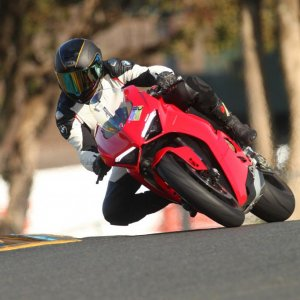 Break in a Sonoma Raceway. Cold day!