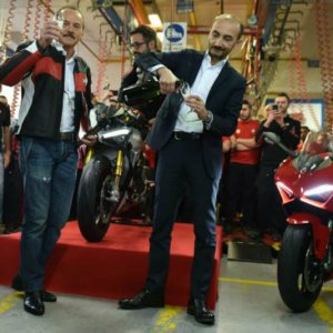 Ducati Panigale V4 Already In Production